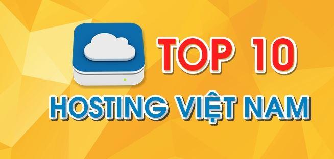 Top 10 công ty hosting.