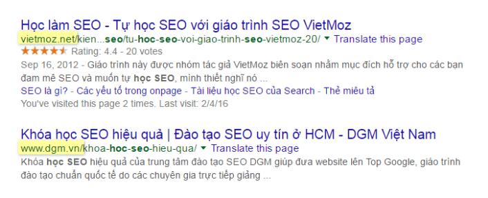 Domain thương hiệu doanh nghiệp
