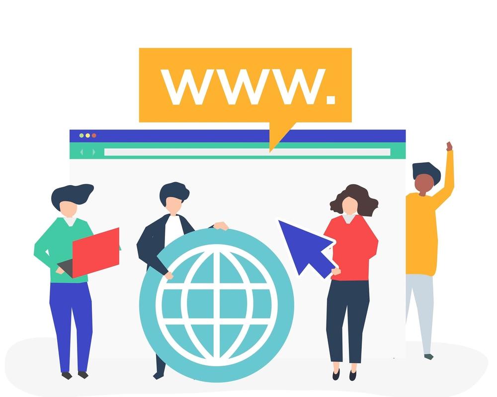 Địa chỉ web là một dòng chữ với nhiều ký tự hay còn được gọi là tên miền